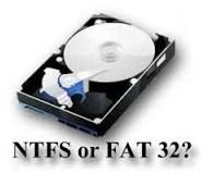 NTFS ke FAT32