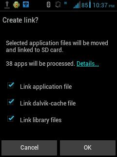Cara Menggunakan Link2SD 7