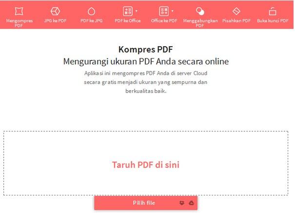 Memperkecil Ukuran File PDF