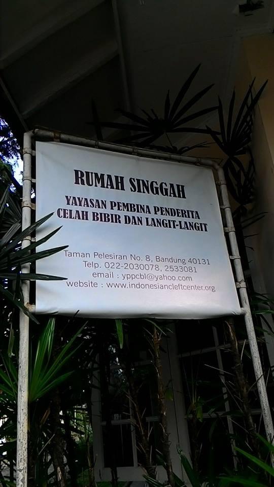 Rumah Singgah Bibir Sumbing YPPCBL Bandung 2